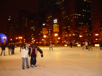 Ice Rink in use